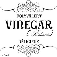 French Style Canister Labels For The Kitchen and Food Storage Vintage Diy, Vintage Labels, Vintage Images, Vintage Pictures, Printable Labels, Free Printables, French Typography, Foto Transfer, Heat Transfer