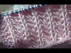 1DÜZ1V(balık ağları)yazlık yelek örneği - YouTube Knitting Stiches, Knitting Videos, Crochet Videos, Baby Knitting Patterns, Knitting Designs, Knitting Projects, Stitch Patterns, Crochet Patterns, Tunisian Crochet