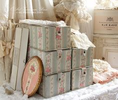 Antique french boxes