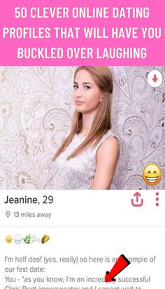 #Clever #Online #Dating #Profiles #Buckled #Over#Laughing