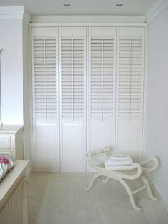 Louvered Wardrobe doors