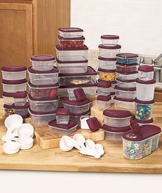 Kitchen Storage u0026 Organization 100-Pc. Container Set Food Storage Containers #TheLakesideCollection & 13 best 100 PIECE KITCHEN STORAGE PLASTIC CONTAINER u0026 LID SET W ...