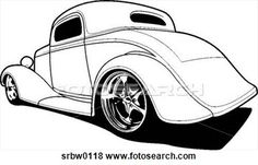 Street Rod Clip Art | Clip Art - classic street rod. fotosearch - search clipart ...