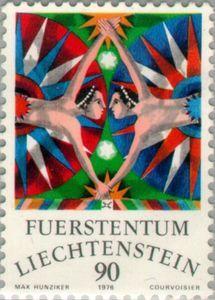 Sello: Gemini (Liechtenstein) (Zodiac) Mi:LI 661,Yt:LI 602,Zum:LI 599