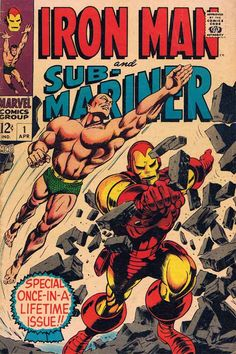 Iron Man and Sub-Mariner