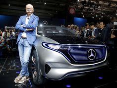 Dieter Zetsche, CEO of the Daimler AG, stands next