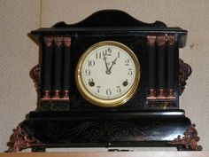 Antique mantle clock from the era of the Titanic!