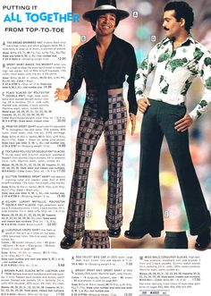 """70's swagger 
