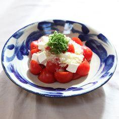 ≪夏≫北窯×トマトとクリームチーズのサラダ