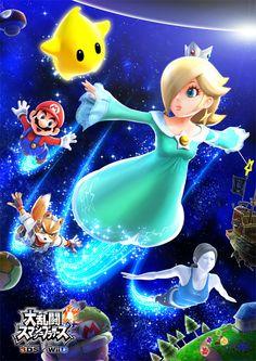 大乱闘スマッシュブラザーズ for Nintendo 3DS / Wii U:ロゼッタ&チコ