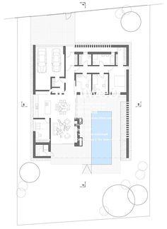 Vila Atrium Atrium, Floor Plans, Layout, Building, Page Layout, Buildings, Construction, Floor Plan Drawing, House Floor Plans