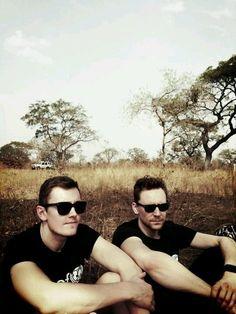 Luke Windsor & Tom Hiddleston   Guinea 2012