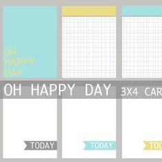 http://www.nestcandy.com/2012/07/16/oh-happy-day-free-journaling-cards/