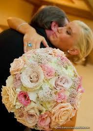 peach bouquets weddings - Google Search