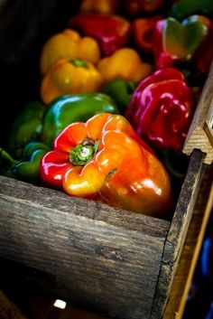 eat   raw foods - bell peppers