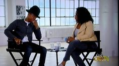 """:: Pharrell Does A """"Happy"""" Cry On Oprah Prime If he doesn't ever make another recording.he's done it up with """"HAPPY""""! It has inspired and helped lots of people! Makes you feel all warm and fuzzy inside! Pharrell Williams, Oprah Winfrey, Ver Video, Famous Names, Human Emotions, Felt Hearts, Kinds Of Music, I Love Him, Role Models"""