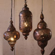 moroccan hanging lamps - Google Search