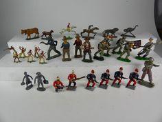 schönes Lot alter Zinnfiguren - stellenweise Vollplastisch diverser Hersteller 1 | eBay