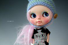 Reserved listing Pastel Blythe custom ooak doll by por Jodiedolls