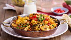 Tofu met paddenstoelencurry | Gezondheidsnet