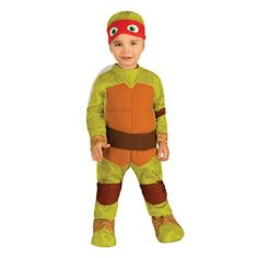 Officially Licensed Teenage Mutant Ninja Turtles Costumes - Raphael Infant / Toddler Costume - Infant Costumes