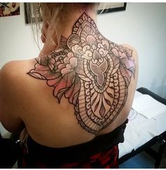 Instagram: sevenechek - ornamental tattoo
