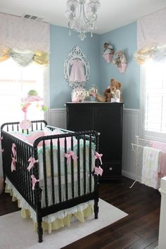 Victoria's Shabby Chic Nursery Projectnursery.com More photos of this room! Page 41? Product info.