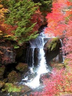 Ryuzu - Dragonhead waterfall  - Nikko 竜頭の滝
