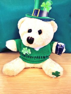 DANIbear tweeted by one of our clients enjoying St Patrick's day 2014 #DANIbear