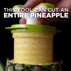 Easy Pineapple Corer & Slicer