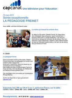 Mardi 19 mars, à partir de 21h, soirée exceptionnelle entièrement consacrée à Célestion #Freinet !