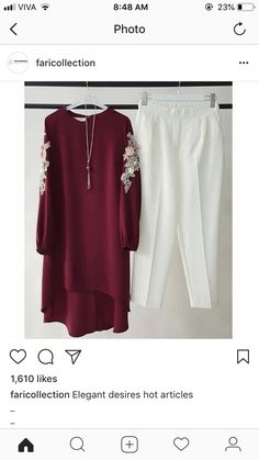 Style yourself with Designer Highlow pattern kurti with applique work paired with pearl white pants for classy and descent look at a same time. Dm or call for customization Pakistani Fashion Casual, Pakistani Dresses Casual, Pakistani Dress Design, Muslim Fashion, Hijab Fashion, Casual Dresses, Fashion Dresses, Stylish Dresses For Girls, Stylish Dress Designs