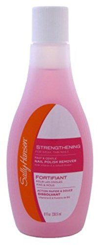 Sally Hansen Polish Remover 8oz Strengthening Acetone 2 Pack *** You can find out more details at the link of the image.Note:It is affiliate link to Amazon.