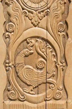 Teds Woodworking® - Woodworking Plans & Projects With Videos - Custom Carpentry — TedsWoodworking Home Door Design, Front Door Design Wood, House Design, Alphabet Symbols, Wood Carving Designs, Firebird, Wood Art, Doors, Lion Sculpture