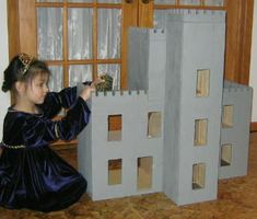 Free Doll House Plans - How to Build A castle