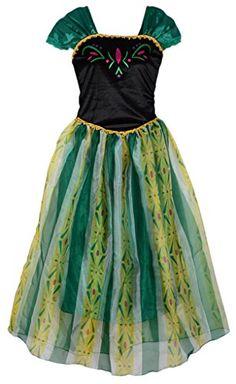 Eyekepper Women s Princess Anna Dress Cosply Costume Adul. 33f2cf15c532e