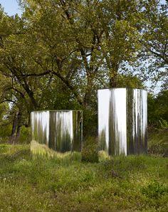 tokujin yoshioka - glass - reflection - sculpture