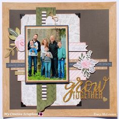Grow Together✨created using the September Main Kit from @mycreativescrapbookofficial featuring @pebblesinc #mycreativescrapbook #kitclub #mycreativescrapbookkitclub #scrapbookingkitclub #scrapbook #scrapbookkitclub #papercraft #papercrafting #scrapbooking #create #craft #jenhadfield #pebblesinc
