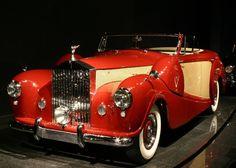 Rolls Royce Silver Wraith Cabriolet 1954.