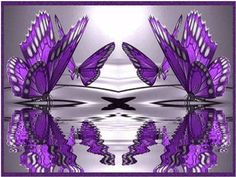 Butterfly Reflections - Fantasy Wallpaper ID 150349 - Desktop Nexus Abstract Purple Love, All Things Purple, Shades Of Purple, Timeline Cover Photos, Facebook Cover Images, Facebook Timeline, Artsy Photos, Butterfly Pictures, Green Butterfly