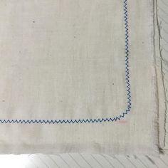 Today's stuff. Sewing cotton handkerchief.  #paper #workshop #artbook #zine #bookbinding #bookdesign #artistbook #paperstuff #ワークショップ #本 #紙もの #製本 #sewing #ミシン #ガーゼハンカチ