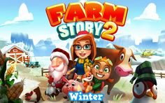 Farm Story 2 Winter Simulation Android İos Free Game GAMEPLAY VİDEO