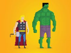 Your Greatest Childhood Heroes, Rendered in Delightful 8-Bit Pixels | Underwire | WIRED