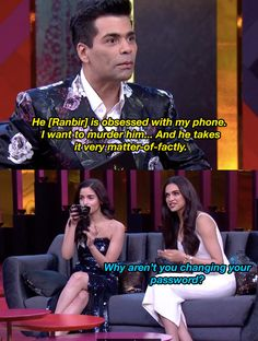 f6afef20d7f When Karan Johar seemed to be totally okay with Ranbir Kapoor always  checking his phone.
