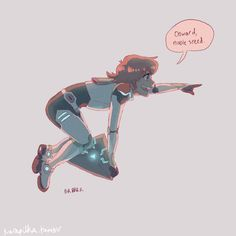 *floats into battle* by kurapilka - Pidge<<< That's adorable and I miss Rover.