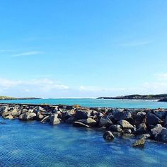 Repost from @portfairypics, what a gorgeous shot of this stunning place where we live - Port Fairy!  #soblue #portfairy #portfairypics #ocean #river #stunning #greatoceanrd #ourbackyard #visitportfairy #wanttogototheseaside #evolvelifestyle #evolveportfairy