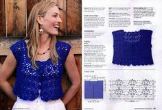 Crochet Designs Free: BLOUSES WITH BEAUTIFUL GRAPHICS. SEE!