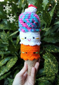 Amigurumi Food and More.