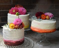 Cakes by kneadtomake and flour and fluer on Design*Sponge