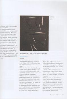 Artículo en la revista Bonart  latachegallery.com Cover, Books, Journals, Fotografia, Libros, Book, Book Illustrations, Libri